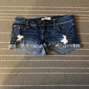 Jean shorts from Hollister